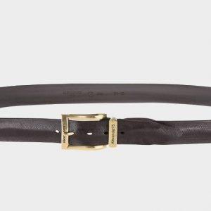 Уникальный коричневый женский джинсовый ремень ATS-190