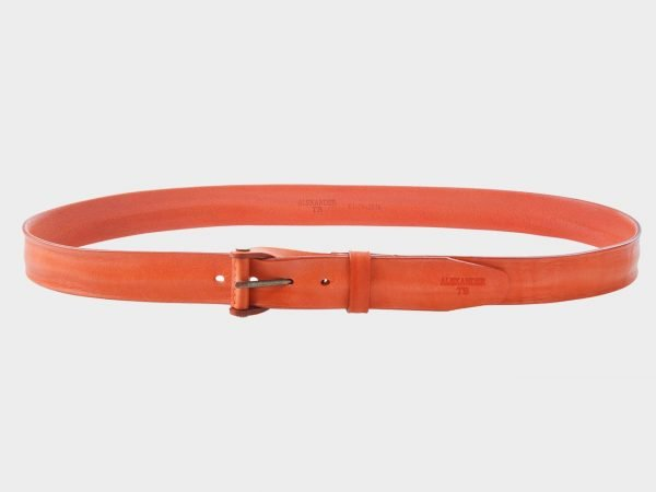 Стильный оранжевый женский джинсовый ремень ATS-296