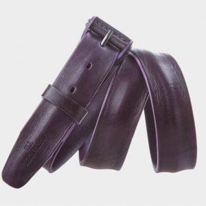 Стильный фиолетовый мужской джинсовый ремень ATS-308 217366