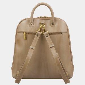 Деловой бежевый рюкзак кожаный ATS-2976 213755