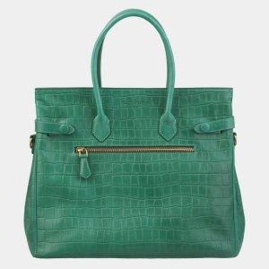 Стильная зеленая женская сумка ATS-2979 213750