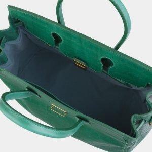 Стильная зеленая женская сумка ATS-2979 213751