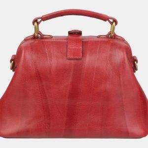 Вместительная красная сумка с росписью ATS-2371 215375
