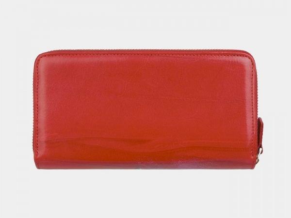 Уникальный красный портмоне с росписью ATS-2999