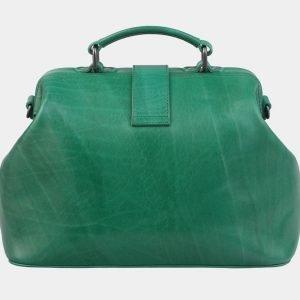 Деловая зеленая сумка с росписью ATS-3006 213682