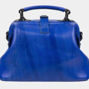 Неповторимая голубовато-синяя сумка с росписью ATS-3007 213677