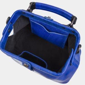 Неповторимая голубовато-синяя сумка с росписью ATS-3007 213678