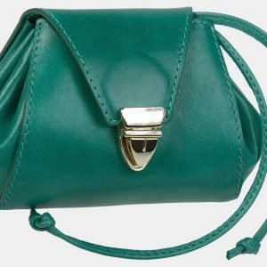 Солидная зеленая косметичка ATS-1870 216174