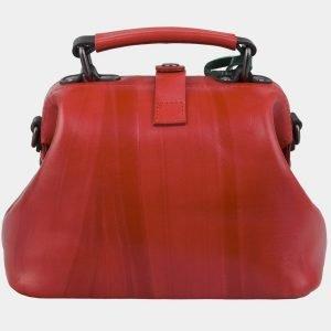 Функциональная красная сумка с росписью ATS-3010 213662