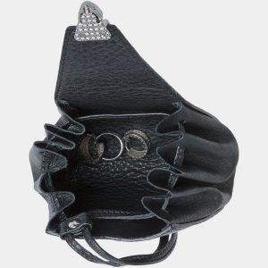Стильная черная косметичка ATS-1875