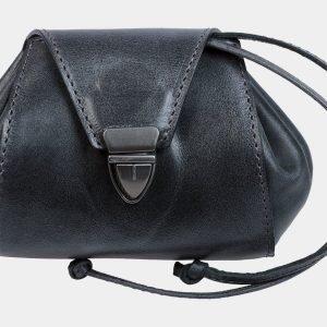 Солидная черная косметичка ATS-1877