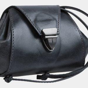 Стильная черная косметичка ATS-1877