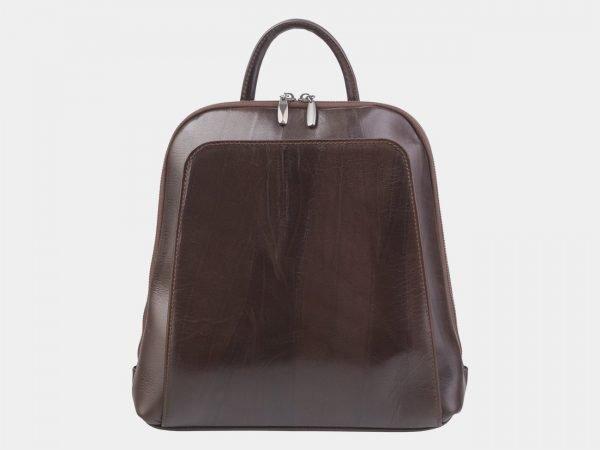 Модный коричневый рюкзак кожаный ATS-2395