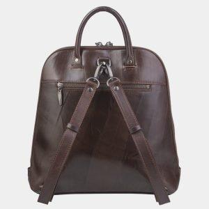 Модный коричневый рюкзак кожаный ATS-2395 215306