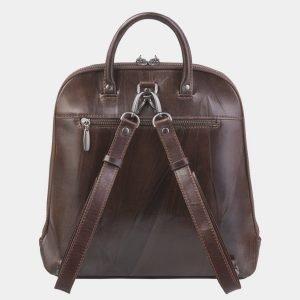 Стильный коричневый рюкзак с росписью ATS-2374 215366