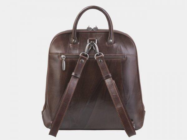 Удобный коричневый рюкзак с росписью ATS-2374