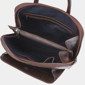 Стильный коричневый рюкзак с росписью ATS-2374 215367