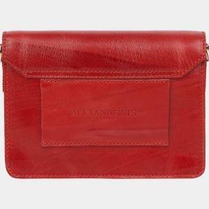 Модная красная женская сумка на пояс ATS-2147 215741