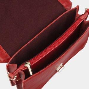Модная красная женская сумка на пояс ATS-2147 215742