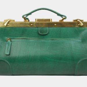 Неповторимый зеленый саквояж с росписью ATS-3025 213643