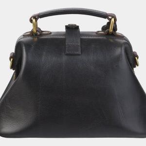 Уникальная черная сумка с росписью ATS-2379 215356