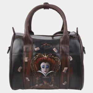 Модная коричневая сумка с росписью ATS-2382