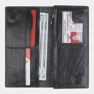 Модный серый портмоне с росписью ATS-2386 215330