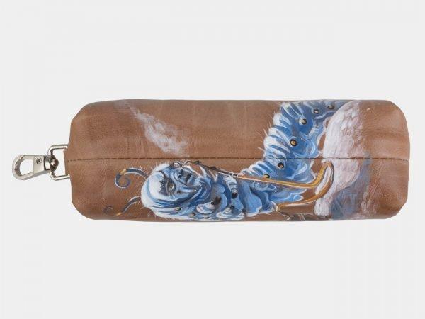 Стильный бежевый аксессуар с росписью ATS-2417