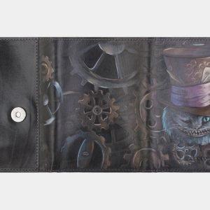 Деловой черный аксессуар с росписью ATS-2405 215277