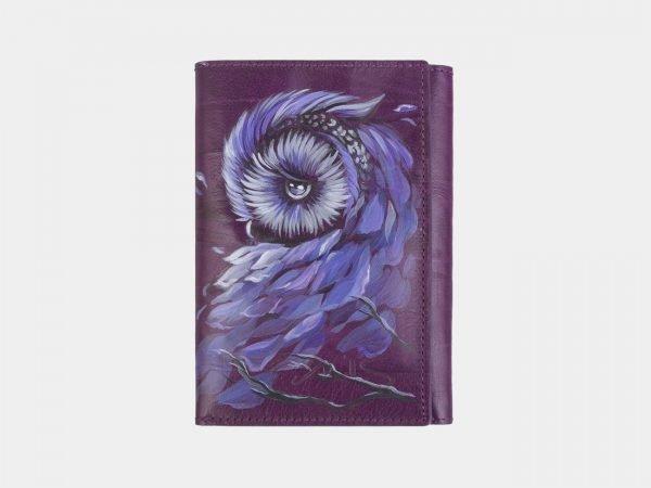 Неповторимый фиолетовый аксессуар с росписью ATS-2406