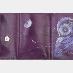 Неповторимый фиолетовый аксессуар с росписью ATS-2406 215273