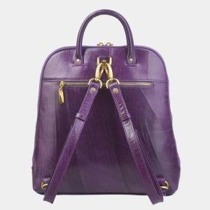 Стильный фиолетовый рюкзак с росписью ATS-2411 215261