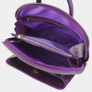Стильный фиолетовый рюкзак с росписью ATS-2411 215262