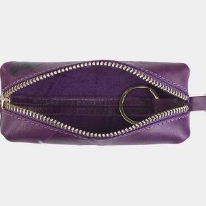 Стильный фиолетовый аксессуар с росписью ATS-2404 215282