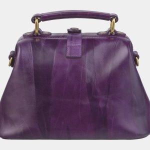 Уникальная фиолетовая сумка с росписью ATS-2422 215221