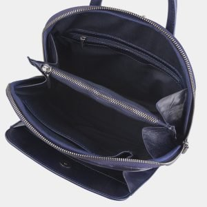 Функциональный синий рюкзак с росписью ATS-2420