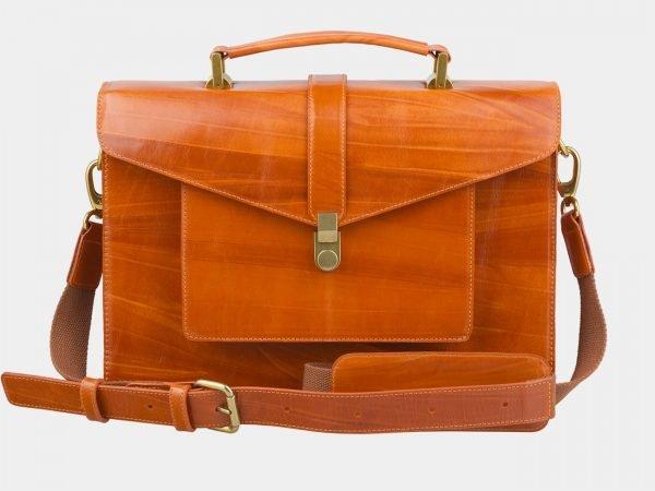 Удобная оранжевая женская сумка ATS-2436