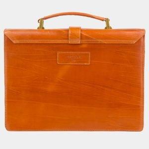 Удобная оранжевая женская сумка ATS-2436 215196