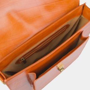 Удобная оранжевая женская сумка ATS-2436 215197