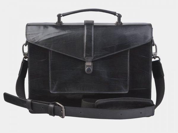 Модная черная женская сумка ATS-2438