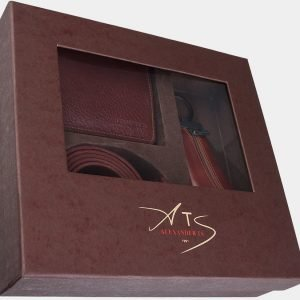 Удобный светло-коричневый подарочный набор ATS-1828 216262