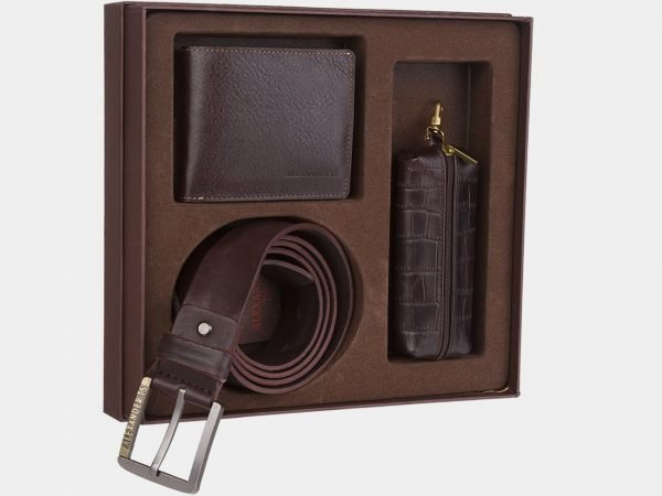 Уникальный коричневый подарочный набор ATS-1829