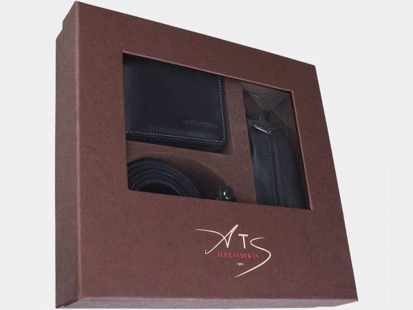 Уникальный черный подарочный набор ATS-1830