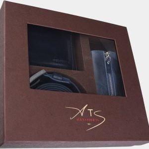 Уникальный синий подарочный набор ATS-1831