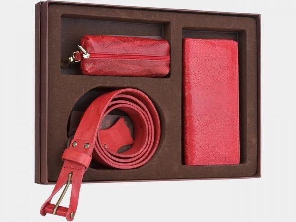 Неповторимый красный подарочный набор ATS-1833