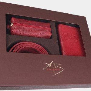 Неповторимый красный подарочный набор ATS-1834 216244