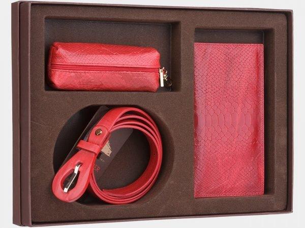 Неповторимый красный подарочный набор ATS-1834