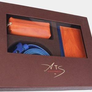 Деловой оранжевый подарочный набор ATS-1835 216241