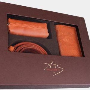 Стильный оранжевый подарочный набор ATS-1836 216238