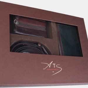 Деловой коричневый подарочный набор ATS-1838 216232